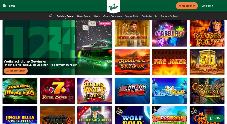 Mr Green Casino Vip
